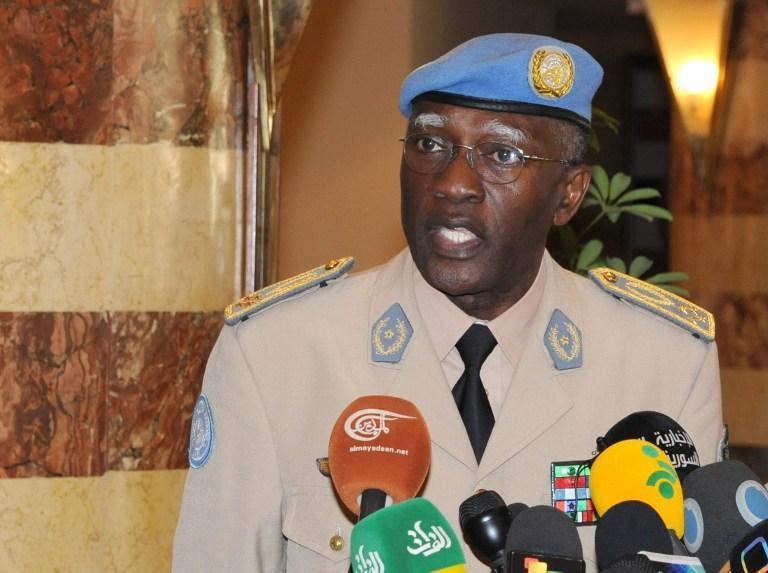 Général de brigade Babacar Faye - DOMP